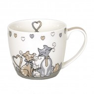 "Taza gato ""Family Love"""