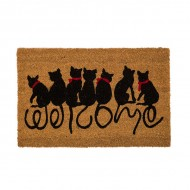 Felpudo gatos - Welcome