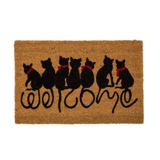 Felpudo gatos - Welcome