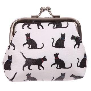Monedero diseño Siluetas de Gatos