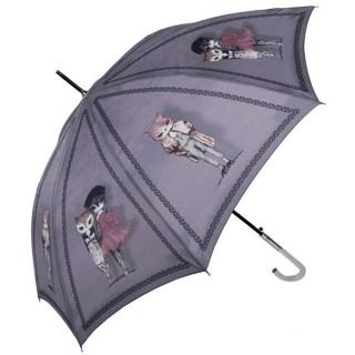 Paraguas gato largo Gris - Perletti