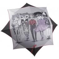 Paraguas Gato Estrella - Color Negro