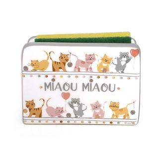 Porta esponja gatos MIAOU