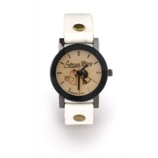 "Reloj Blanco Gato ""In Love"" M"