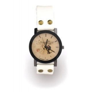 "Reloj blanco ""In Love"" L"