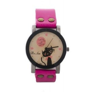 "Reloj fucsia "" Missing You"" - L"