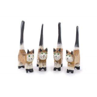 Cuatro Gatos Porta Anillos Beige