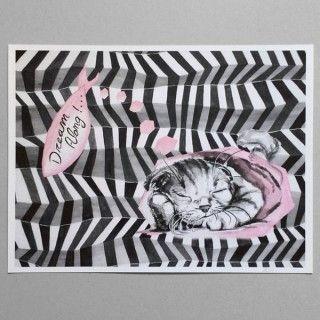 Print Art Gato Grande
