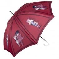 Paraguas gato largo rojo - Perletti