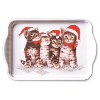 Bandeja gatos pequeña - Canción de Navidad