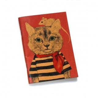 Libreta gato y ratón