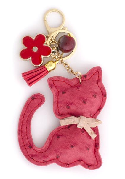Regalos de Navidad - Llavero gato rojo